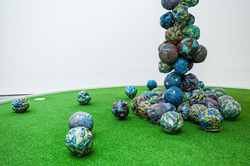 Yinka Shonibare, 'Football Cloud', 2015, Installation, New Art Exchange