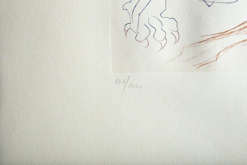 Salvador Dalí, 'Man Samson & Dellilah Art Surrealist Engraving', 1972, Print, Print, Modern Artifact