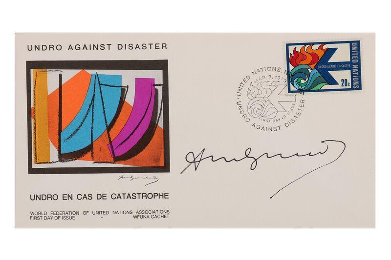 Andy Warhol, 'Undro En Cas De Catastrophe', 1970, Mixed Media, Chiswick Auctions