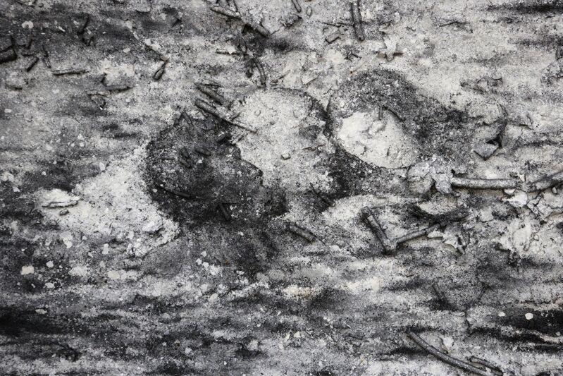 Zhang Huan, 'Q-Confucius No. 3', 2011, Mixed Media, Ash on linen, Rockbund Art Museum