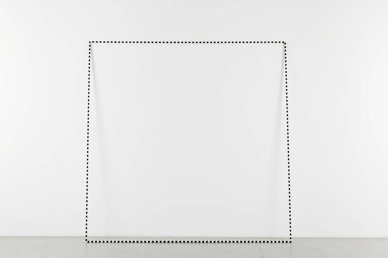 José León Cerrillo, 'Subtraction Screen 9', 2017, Sculpture, Iron, automative paint, Andréhn-Schiptjenko