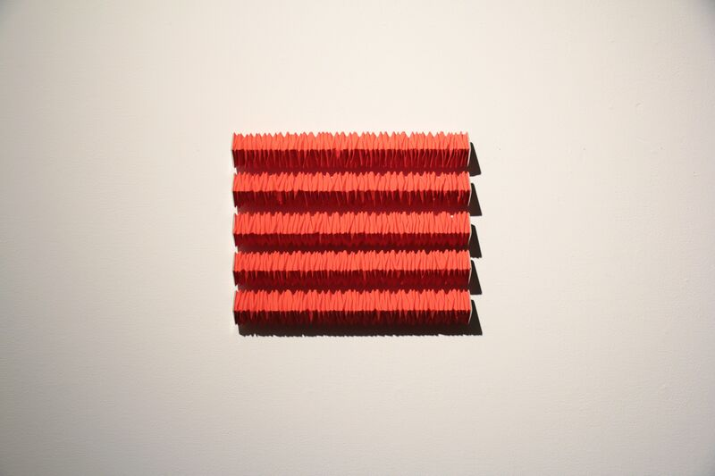 Masayuki Tsubota, 'the core of self_vscy5 ', 2015, Sculpture, Gesso, pigment, acrylic on basswood,tin foil, Gallery LVS