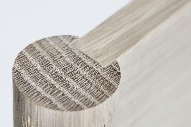 Anne Dorthe Vester & Maria Bruun, 'Objects of Use *Object no. 5', 2014, Design/Decorative Art, Oak, Ceramics, Brass, Etage Projects
