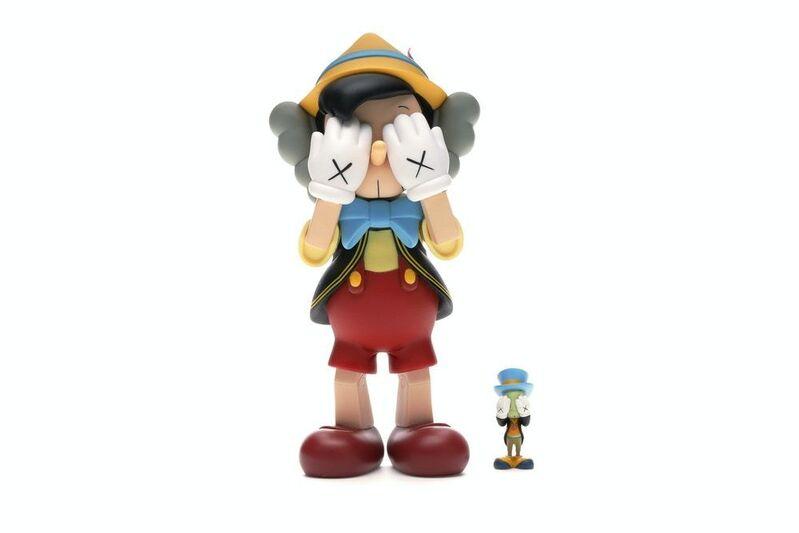 KAWS, 'Pinocchio & Jimini Cricket', 2010, Sculpture, Vinyl, Vroom & Varossieau
