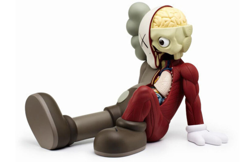KAWS, 'Resting Place (Red)', 2013, Other, Cast vinyl, MSP Modern Gallery Auction