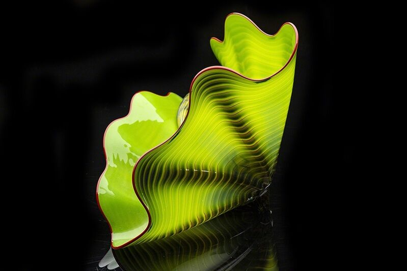 Dale Chihuly, 'Parrot Green Persian Set', 2001, Sculpture, Glass, Modern Artifact