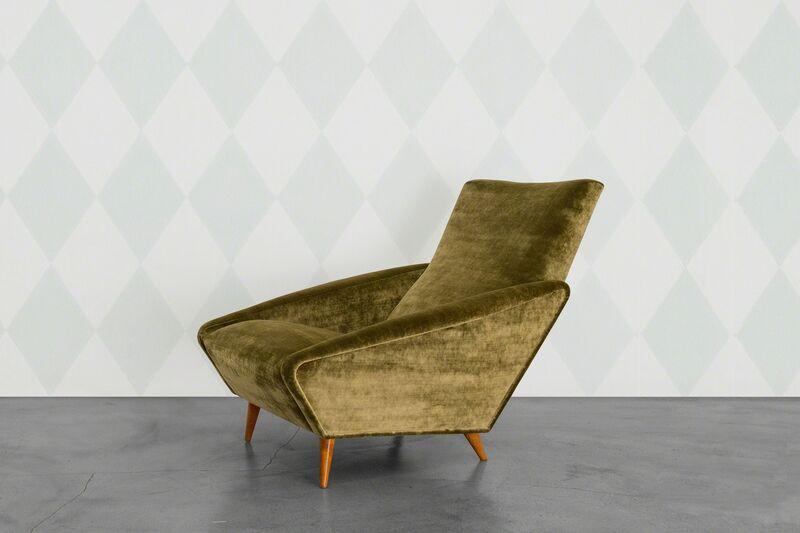 Gio Ponti, 'Distex Armchair', 1953, Design/Decorative Art, Walnut and Velvet, Giustini/Stagetti Galleria O. Roma