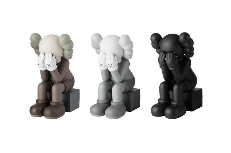KAWS, 'Passing Through', 2018, Sculpture, Painted Vinyl Cast Resin Figures, Curator Style