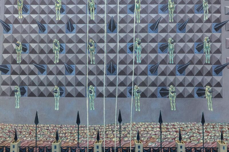 Irving Norman, 'The Palace', 1959, Painting, Oil on canvas, Heather James Fine Art
