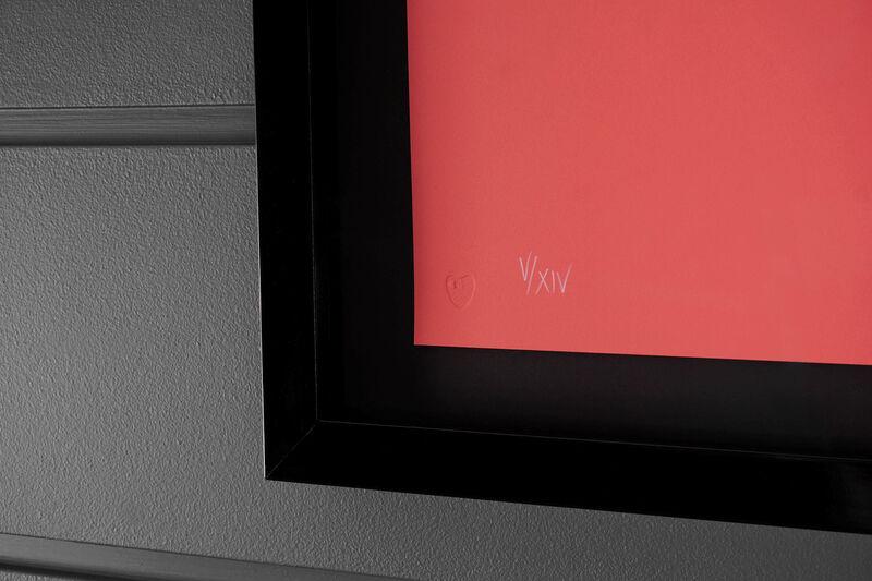 Damien Hirst, ''I Love You' Butterfly, Coral/Gold ', 2015, Print, Silkscreen, Foil-block, Arton Contemporary