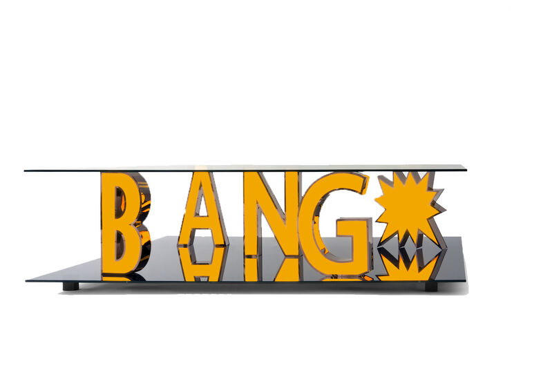 Reinier Bosch, 'Bang*', 2014, Design/Decorative Art, Glass, Stainless steel, plexiglass, Priveekollektie Contemporary Art | Design