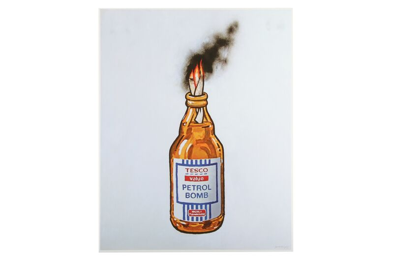 Banksy, 'Tesco Value Petrol Bomb', 2011, Print, Offset lithograph, Chiswick Auctions
