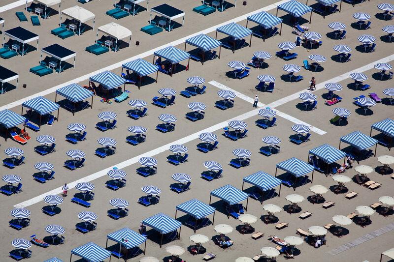 Alex Maclean, 'MARKED TERRITORY, VIAREGGIO, ITALY, 2010', 2010, Photography, Digital C-Type, Huxley-Parlour