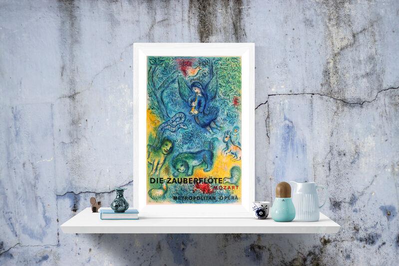 "Marc Chagall, 'The Magic Flute, ""Die Zauberflote"", First Edition', 1967, Print, Original Lithograph, Inviere Gallery"