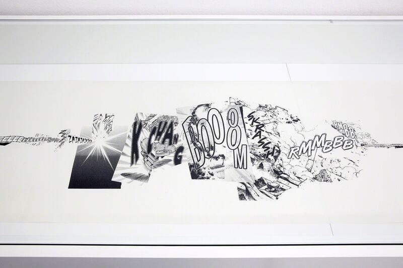 Christian Marclay, 'Manga Scroll (Detail)', 2010, Print, Lithography on rice paper, Kunstraum Innsbruck