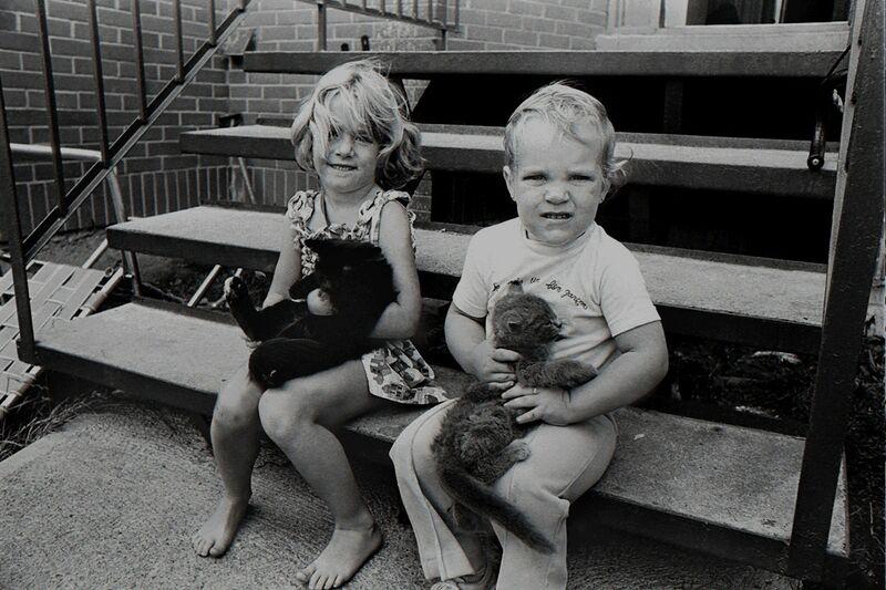Réjean Meloche, 'Enfants avec Chats', 1970, Photography, Digital print, The Print Atelier