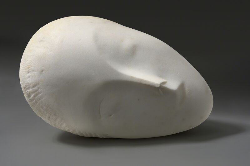 Constantin Brâncuși, 'Sleeping Muse I', 1909-1910, Sculpture, Marble, Hirshhorn Museum and Sculpture Garden