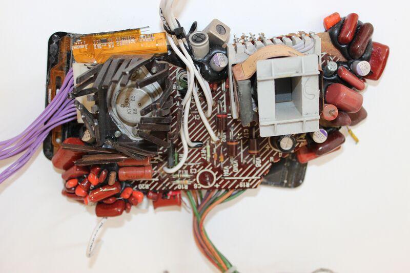 Kristof Kintera, 'Fragile Informatica', 2017, Sculpture, Mixed media on plywood, Sapar Contemporary