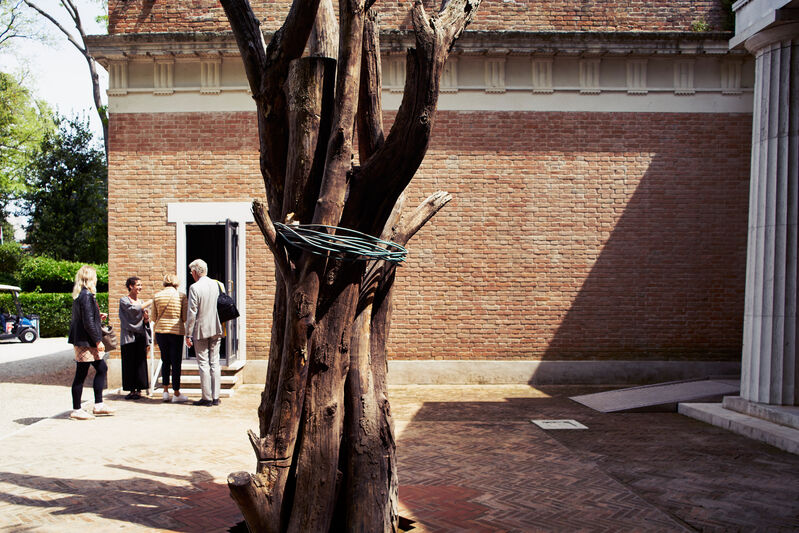 Joan Jonas, 'They Come to Us without a Word (Installation view)', 2015, Installation, 56th Venice Biennale