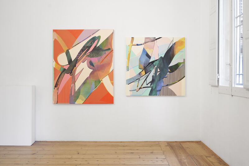 Kathryn MacNaughton, 'Shuttered Hues', 2021, Painting, Acrylic on canvas, MAGMA gallery