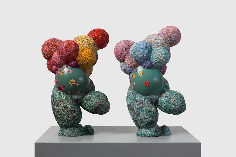 Wu Shaoxiang 吴少湘, 'Holy fruit II  圣果 II', 2018, Sculpture, Print books and newspapers, acrylic, Linda Gallery
