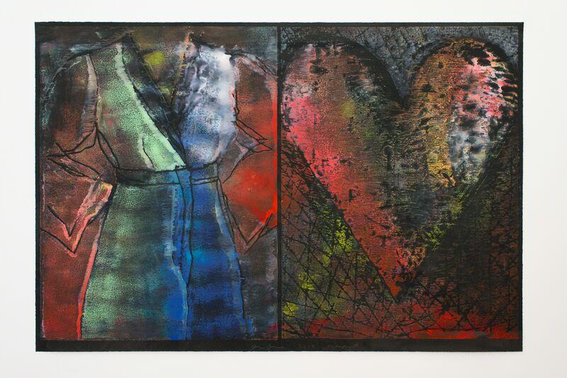 Jim Dine, 'July, Summer 2014 XVIII', 2014, Painting, Monotype, Osborne Samuel