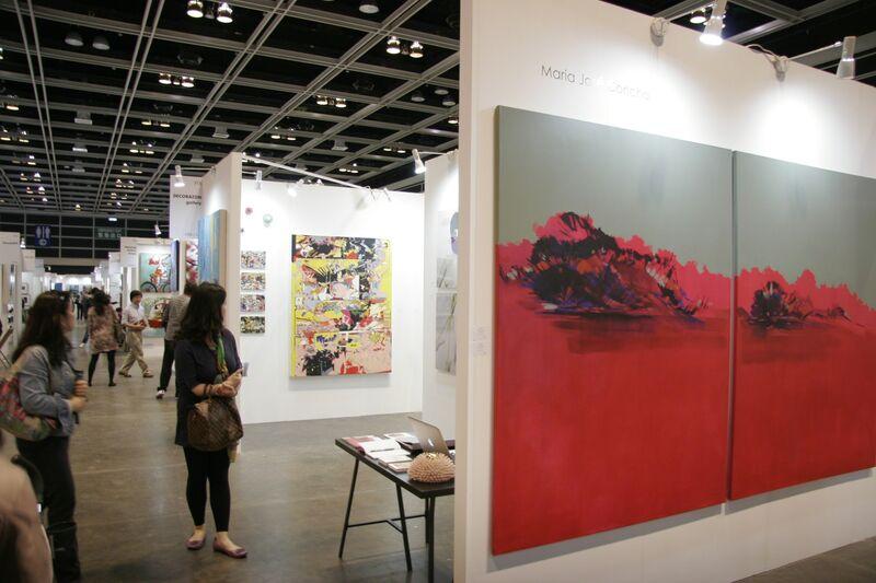 María José Concha, 'Contemplo II', 2013, Painting, Oil and acrylic on canvas, DECORAZONgallery