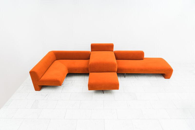 Vladimir Kagan, 'Three Piece Omnibus Sectional, USA', 1970-1979, Design/Decorative Art, Lucite, Polyester, Todd Merrill Studio