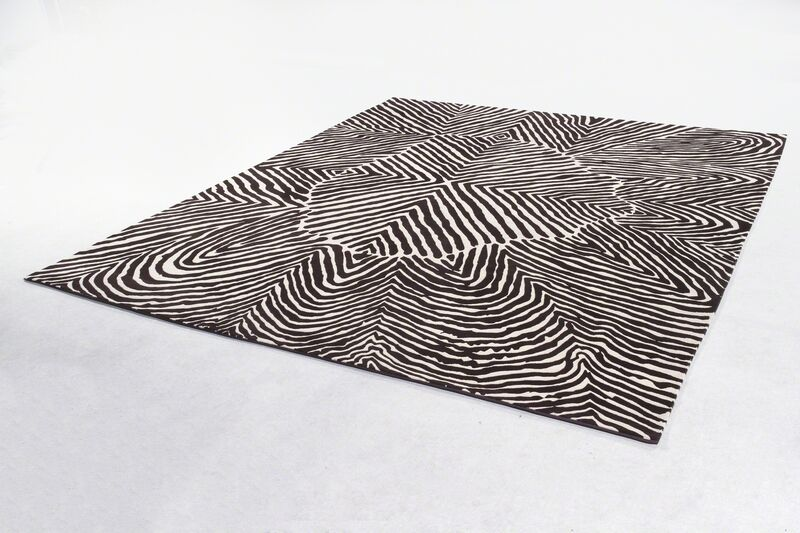 Thaddeus Wolfe, 'Carpet in wool. Designed by Thaddeus Wolfe, USA, and produced in Nepal in collaboration with Amini, 2017. Edition of 3 plus 3 APs.', 2017, Design/Decorative Art, Wool, R & Company