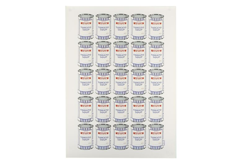Banksy, 'Tesco Tomato Soup', 2006, Print, Offset lithograph, Chiswick Auctions