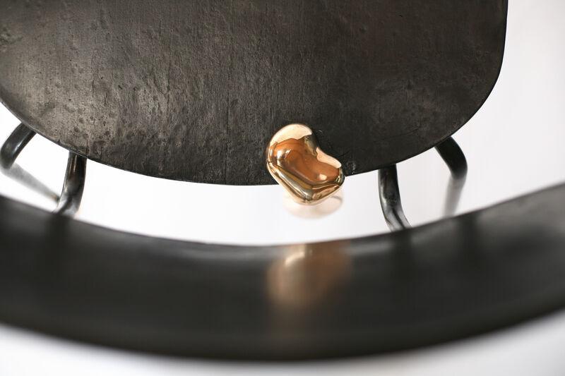 Reinier Bosch, 'Champagne chairs - Sec', 2015, Sculpture, Bronze, Priveekollektie Contemporary Art   Design