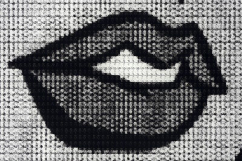 Alex Guofeng Cao, 'I Love You, Too, Lichtenstein vs Lichtenstein', 2011, Photography, Chromogenic Print with Dibond Plexiglass, Capsule Gallery Auction