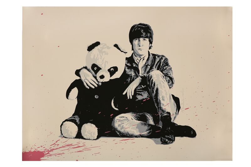 Mr. Brainwash, 'All You Need Is Love (Lennon)', 2010, Print, Screenprint on paper, Chiswick Auctions