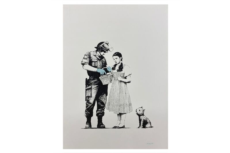 Banksy, 'Stop And Search', 2007, Print, Screenprint in colour, Chiswick Auctions