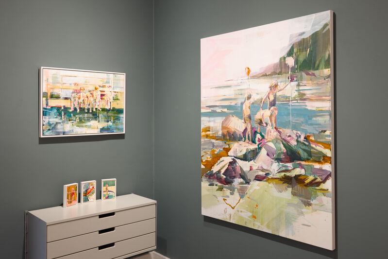 Katharine Le Hardy, 'Run wild', 2021, Painting, Oil on canvas, Candida Stevens Gallery