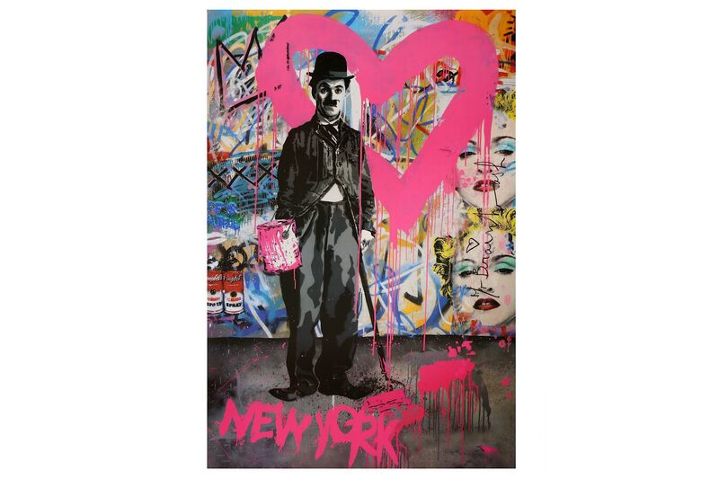 Mr. Brainwash, 'NY Charlie Chaplin', 2012, Print, Offset lithograph, Chiswick Auctions