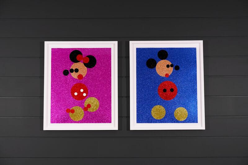 Damien Hirst, 'Mickey ', 2006, Print, Silkscreen, Glitter, Wove Paper, Arton Contemporary