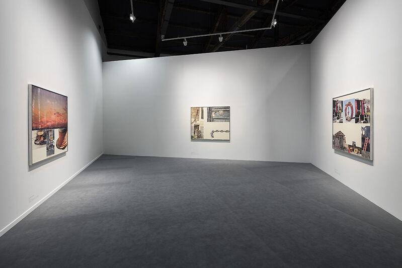 Robert Rauschenberg, 'Left: Courtyard (1989) Right: Catch (1993)', Acrylic and enamel on enameled aluminum, Faurschou Foundation
