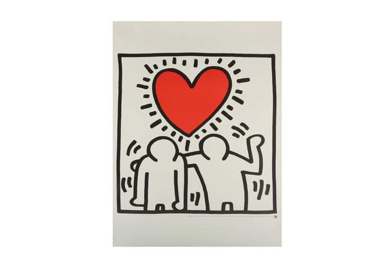 Keith Haring, 'Wedding invitation', 1987, Drawing, Collage or other Work on Paper, Chiswick Auctions