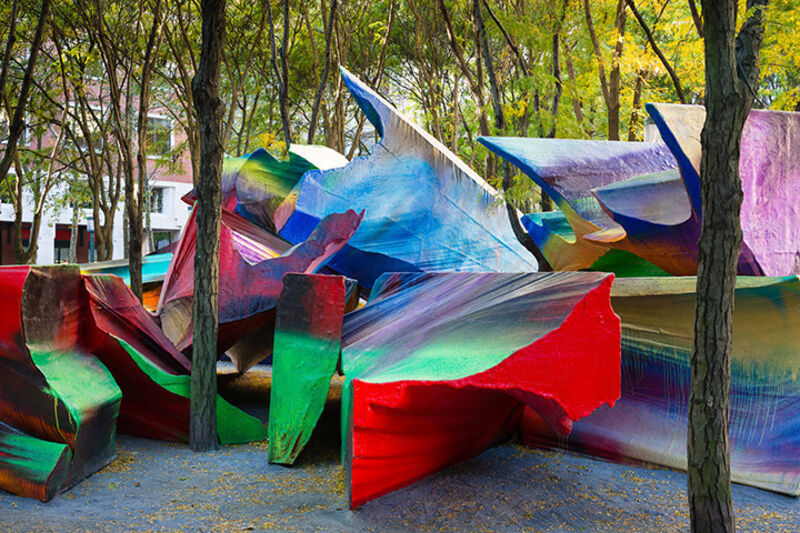 Katharina Grosse, 'Just Two of Us', 2013, Sculpture, Public Art Fund