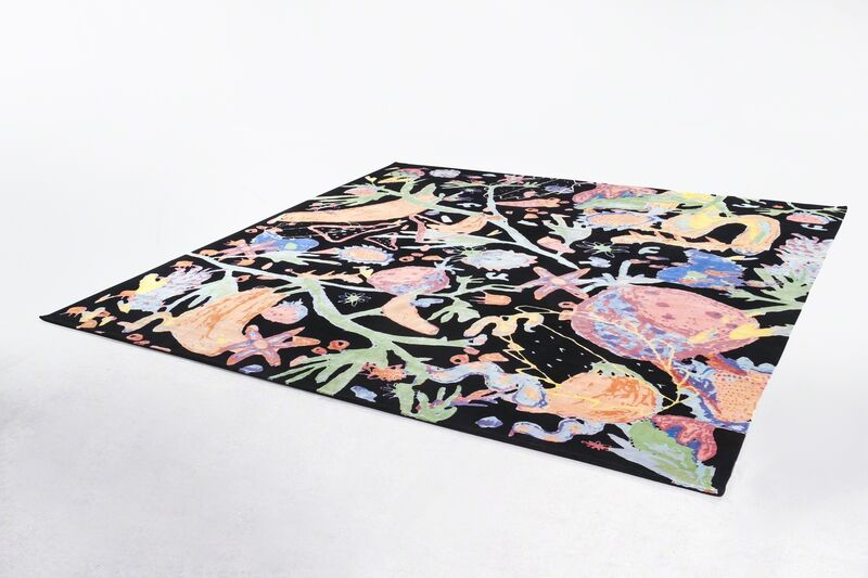 Katie Stout, ''Manic Botanic' carpet in wool and silk. Designed by Katie Stout, USA, and produced in Nepal in collaboration with Amini, 2017. Edition of 8 plus 3 APs.', 2017, Design/Decorative Art, Wool, R & Company