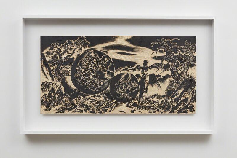 Sun Xun 孫遜, 'Time Spy 08', 2016, Painting, Woodcut painting, Sean Kelly Gallery
