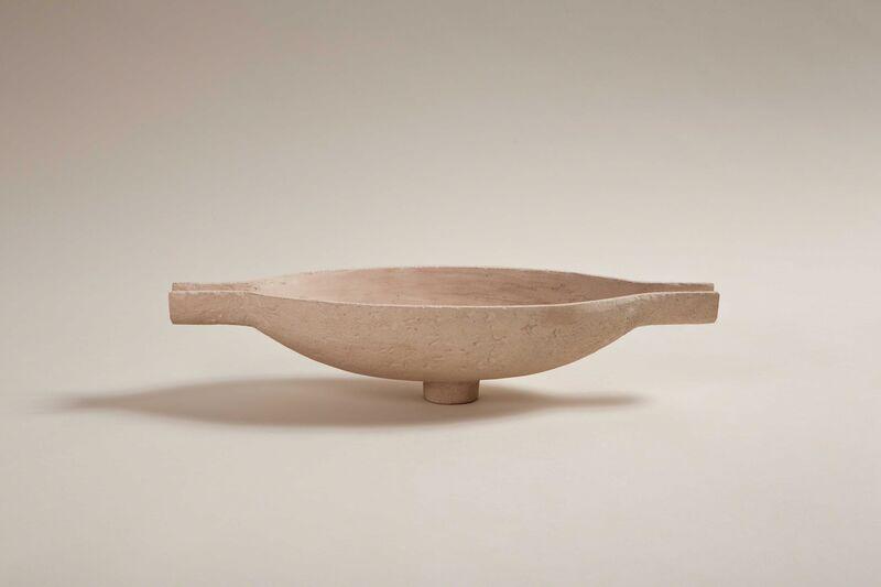 Marc du Plantier, 'Vasque, Neo-Egyptian light bowl', 1940, Design/Decorative Art, Pale pink plaster, Galerie Anne-Sophie Duval
