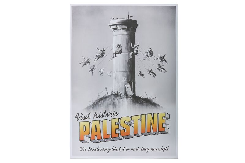 Banksy, 'Visit Historic Palestine', Posters, Poster, giclée print in colour, Chiswick Auctions