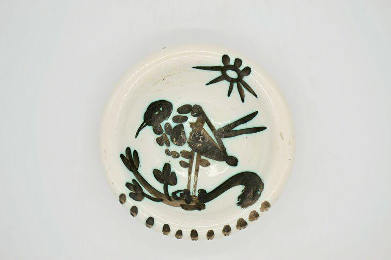 Pablo Picasso, 'Bird Under The Sun (A.R.174) ', 1952, Design/Decorative Art, Partially Glazed Terre De Faience, Off The Wall Gallery