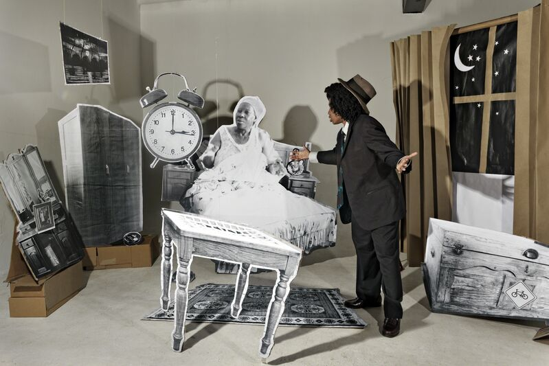 Lebohang Kganye, 'The Alarm', 2013, Photography, Inkjet print on cotton rag paper, Afronova
