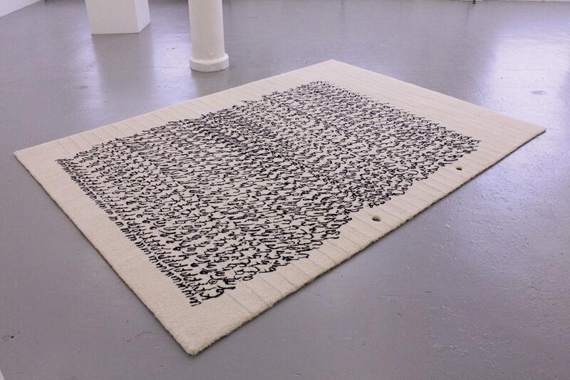 Mekhitar Garabedian, 'fig.a, a comme alphabet (carpet, 2012)', Mixed Media, Hand made carpet, Baronian Xippas