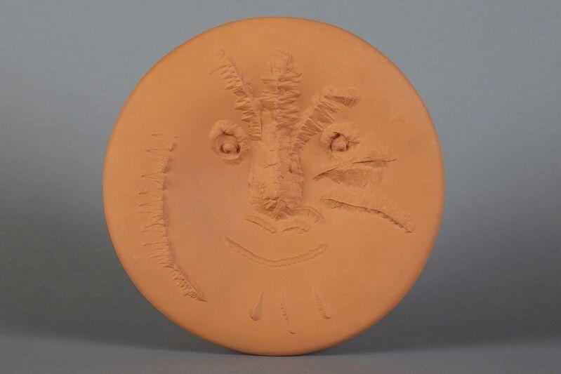 Pablo Picasso, 'Visage En Gros Relief Plate', 1963, Sculpture, Ceramic, Modern Artifact