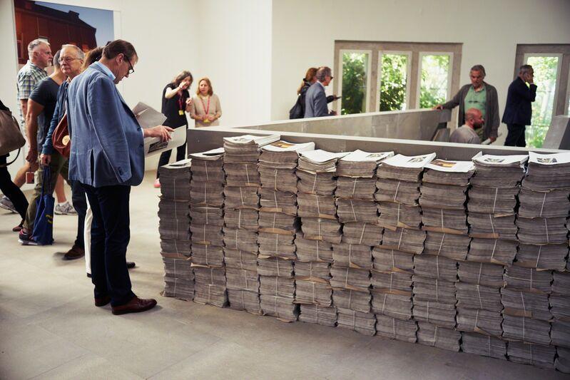 Tobias Zielony, 'The Citizen (Installation view)', 2015, Installation, 56th Venice Biennale