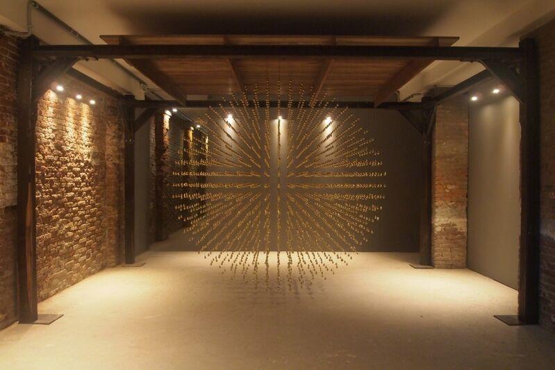 Arin Rungjang, 'Golden Teardrop', 2013, Installation, Sculpture & video, West Den Haag